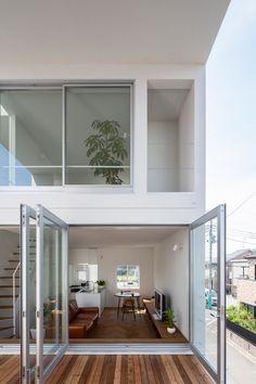 Little House Big Terrace by Takuro Yamamoto