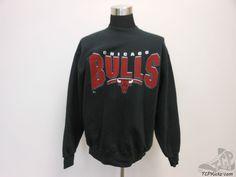 Vtg Pro Player Chicago Bulls Crewneck Sweatshirt sz XL Extra Large Jordan Pippen #ProPlayer #ChicagoBulls #tcpkickz