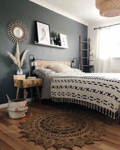 20 tips will help you improve the environment in your bedroom Good morning It couldnt be a better monday for me! Yes I do have to work a little today but Daniel has two. Dream Bedroom, Home Decor Bedroom, Master Bedroom, My New Room, House Rooms, Home Decor Inspiration, Interior Design, Jute Rug, Environment