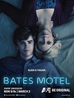 """Póster oficial de la segunda temporada de """"Bates Motel"""""""