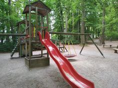 Schlosswirtschaft Mariabrunn - Kinda Beer Garden, Playground, Woodland Forest
