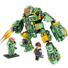 The Hulk Buster Smash Avengers 2 Iron Man Marvel Set Building Bricks Blocks Toy Gift Lepin Compatible With Lego Lego Mechs, Lego Bionicle, Lego Ninja Turtles, Nerf Accessories, Lego Iron Man, Iron Man Suit, Lego Robot, Lego Storage, Cool Lego Creations