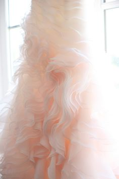 This is my actual wedding dress, hanging in my room. It's crazy to find it on Pinterest!