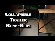 Deer hunter special/camper conversion and Bug Out Trailer - YouTube