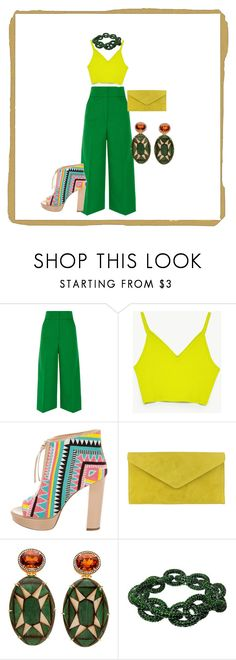 """""""rebel in color"""" by belledationsa on Polyvore featuring Marni, Jerome C. Rousseau and Plukka"""