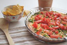 Selective Potential: Seven Layer Mexican Dip