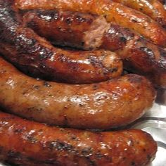 Slow cooker sausages in beer. Sausages with beer cooked in slow cooker.Very easy and delicious.