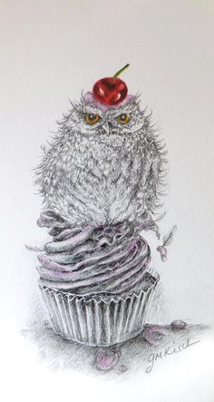 that very first cupcake owl Janet Kisch https://www.facebook.com/pages/Once-Upon/122225247945788?ref=hl