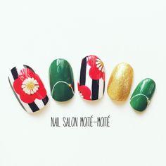 和 ネイル - Google 検索 Joy Nails, New Year's Nails, Beauty Nails, Nail Polish Designs, Nail Art Designs, Cute Nails, Pretty Nails, Korea Nail Art, Nail Pops