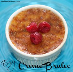 Easy Creme Brulee - This is seriously the easiest recipe ever! just need to plan ahead for the time involved with baking and cooling