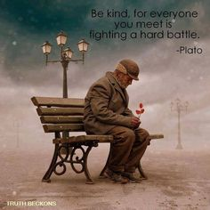 Simple acts of Kindness and Paying it Forward help us to face our own battles with a bit more perspective and, maybe, even a little optimism!