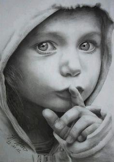 A brilliant pencil sketch