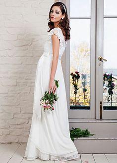 Liberty Maternity Wedding Gown (Ivory) - Maternity Wedding Dresses ... cae41666a51