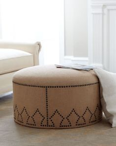 Ottomans - Chairs & Ottomans - Living Room - Furniture - Horchow