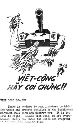 Propoganda Leaflets Urging the Defection of VC and North Vietnamese to the Side of the Government of Vietnam
