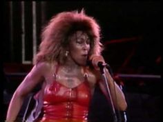 """Tina Turner LIVE - """"Proud Mary""""  - 1988 - Rio ... a guilty pleasure who I love... won't even deny it"""