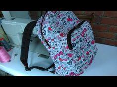 DIY como confeccionar na mochila basica modelo unisex PARTE1 - YouTube