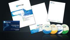 UPware Soft, diseño de Papelería de Alta dirección.