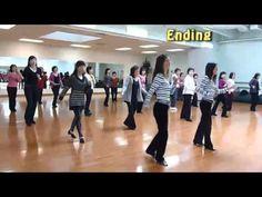 1-2-3-4 Line Dance ( Dance & Walk Through)