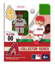 Diamondbacks Collector Series Minifigure - Arizona Diamondbacks