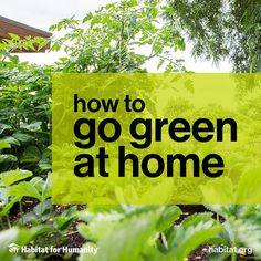Go green! Check out these friendly tips for your home and your community. #EarthDay