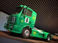 Racing Truck im Mercedes Benz-Museum