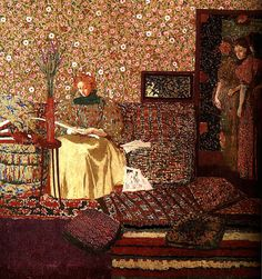 It's About Time: Jean Edouard Vuillard 1868-1940 brings flowers indoors for the Winter