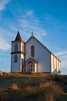 The Fogo United Church is a small wooden methodist church reconstructed after a devastating fire of 1875 that also destroyed part of the Fogo Island Village. Amazing Photography, Travel Photography, Newfoundland Canada, Camera Art, Atlantic Canada, Frozen In Time, Art Prints For Sale, Canada Travel, Travel Pictures