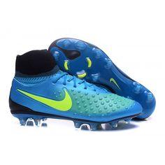 purchase cheap b75c2 18797 Nike Magista Orden II FG Fotballsko Blå grønn