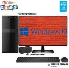 Computador EasyPC MicrosoftPack Intel Core i5 8GB HD 1TB Monitor 19.5 LED  Wifi Windows 10 e 2cbd587abd