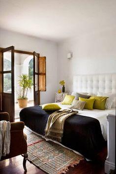 love those shuttered doors! Beautiful Coastal Beach Inspired Rooms