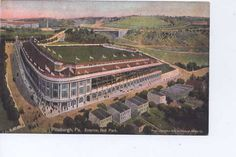 Forbes Field  Pittsburgh, PA    -Tenant: Pittsburgh Pirates  -Capacity: 25,000 (original), 35,000 (final)  -Surface: Grass  -Cost: $1 Million  -Opened: June 30, 1909  -Closed: June 28, 1970  -Demolished: July 1971  -Dimensions: 360-L, 422-C, 376-R (original) 365-L, 400-C, 329-R (final)  -Architect: Osborn Engineering