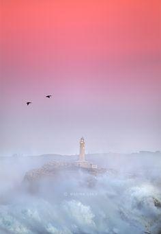 Sunset un Mouro Island #Santander #Cantabria #Spain