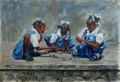 Jonathan Guy-Gladding Black Love Art, Black Girl Art, Art Girl, Jamaican Art, Haitian Art, African Paintings, Caribbean Art, Black Artwork, Afro Art