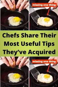 #Chefs Share Their Most #Useful Tips They've #Acquired