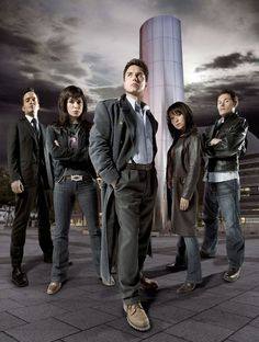 The first series of Torchwood premiered in the UK between 22 October 2006 and 1 January 2007. The series ties into series 1 and series 3 (of Doctor Who), with references to the Bad Wolf meme and Harold Saxon. Most of the stories are contemporary, but the series delves into flashbacks and the occasional time travel adventures centred mainly around Jack Harkness. It featured thirteen fifty-minute episodes. This season starred John Barrowman as Jack Harkness, Eve Myles as Gwen Cooper, Burn...