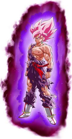 Goku SSJ (Namek) - Goku Black SSR Aura Palette by BenJ-san