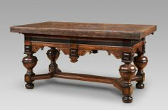 Dutch, About 1660 Dimensions: Overall: 83 x 179 (336 cm. when extended) x 90 cm (32 11/16 x 70 1/2 (132 5/16) x 35 7/16 in.)
