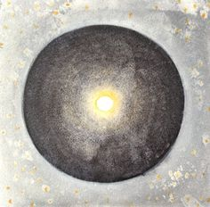 Solstice moon . original acrylic painting on by Arkofconsciousness