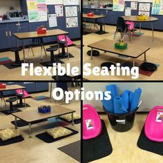 Flexible Seating in the Primary Classroom: Part 1 Ideas & resources for the elementary school teacher. Tips and tricks for reading & writing workshop, iPad and technology, flexible seating a New Classroom, Classroom Setting, Primary Classroom, Classroom Setup, Classroom Design, Classroom Organization, Classroom Management, Classroom Flexible Seating, Classroom Resources