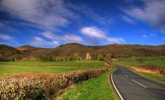 The Road To Little Malvern Priory By Stuart Herbert