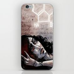 """Hope"" iPhone & iPod Skin now 15%Off/FreeShipping on Mother's Day Gifts / Support Awareness / Arte Cluster Project"