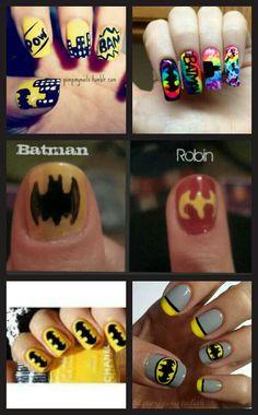 Batman nails = <3