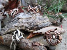 Copper and Silver Heart Ring by TheTimaCollection on Etsy