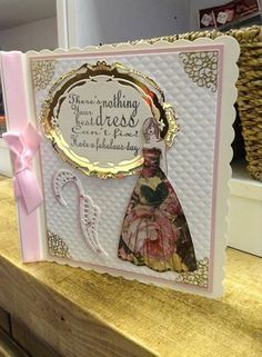 """Card made by Toni Darroch using Stamps By Me """"dress to impress"""" stamp set"""