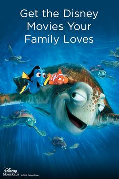 What's better than a trip to the beach? How about an underwater adventure? Enjoy family hits like Finding Nemo, delivered right to your door. Get 4 Disney Movies for $1. With membership. See details.