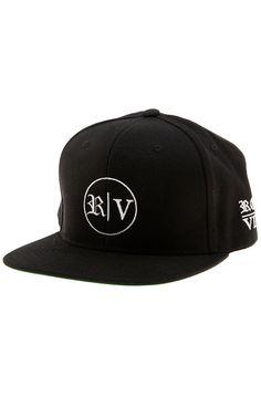 Roberto Vincenzo Logo snapback in Black