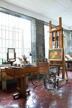 From the Wall Street Journal article about Frida Kahlo's home. It also features 2 products from chiapasbazaar.com