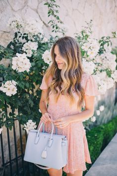 Gal Meets Glam Healdsburg - Urban Outfitter dress and MCM bag, c/o