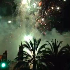 Mascletà nocturna de las Hogueras de San Juan 2014 #Alicante #CostaBlanca #Fogueres2014